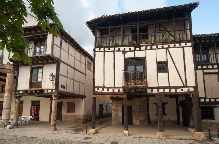 Het oudste huis van het dorp.