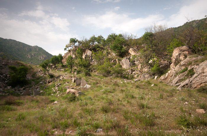 Landschappen worden vaak beter als je de lucht afdekt met een grijsverloopfilter.